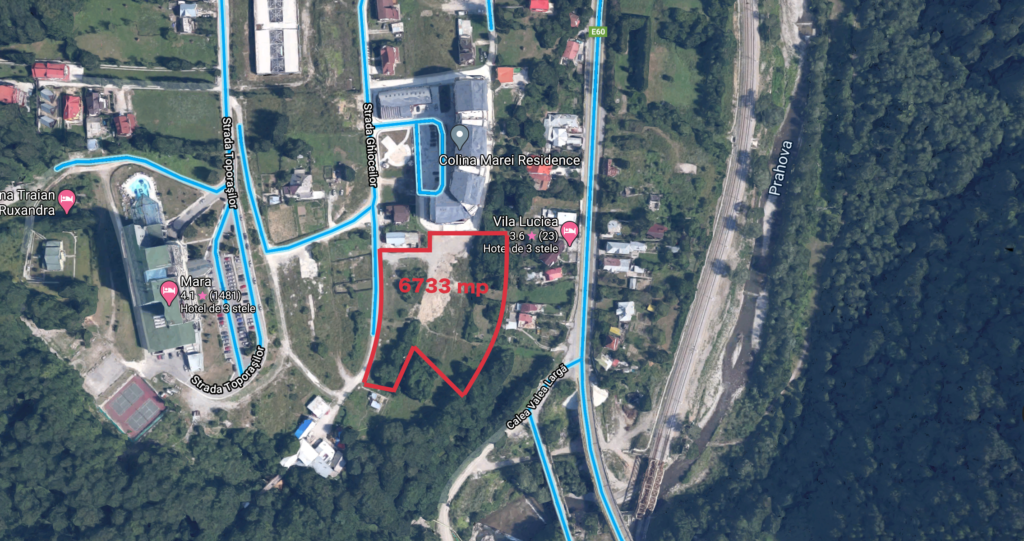 land for sale in sinaia
